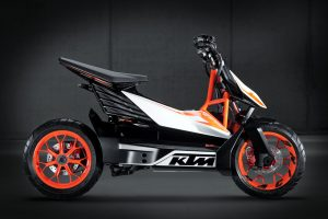 KTM E-speed KTM electric scooter side