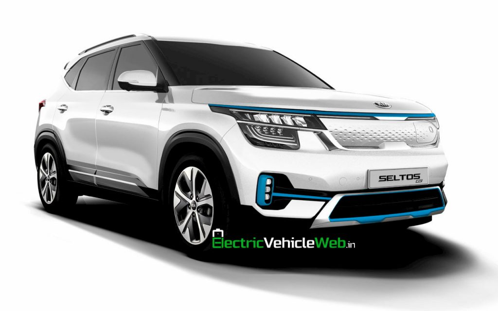 Kia Seltos EV (Kia Seltos Electric) rendering