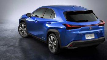 First Lexus Electric Car (UX300e) heads to new markets this year