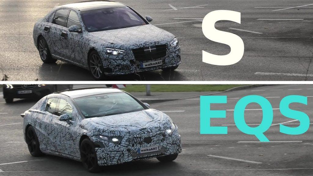 Mercedes EQS vs Mercedes S-Class
