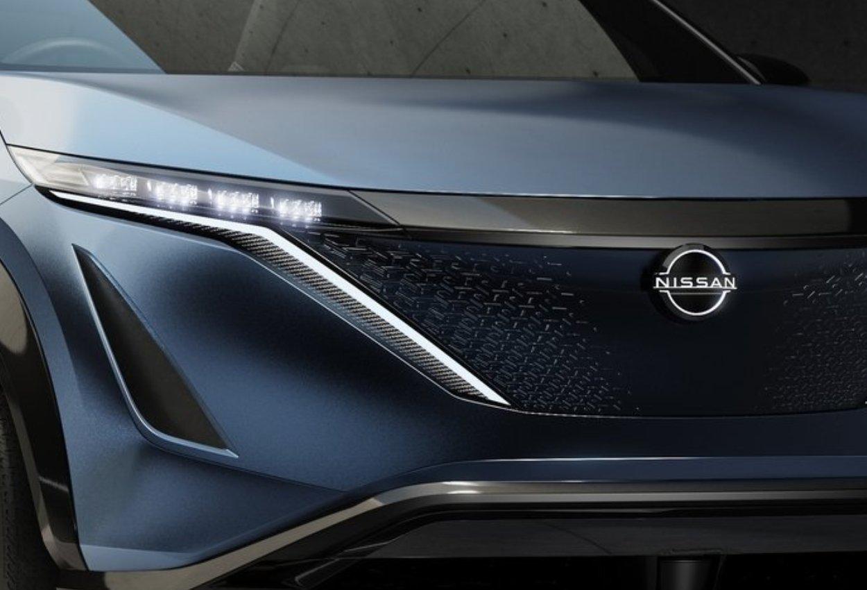Nissan Ariya Concept headlamp