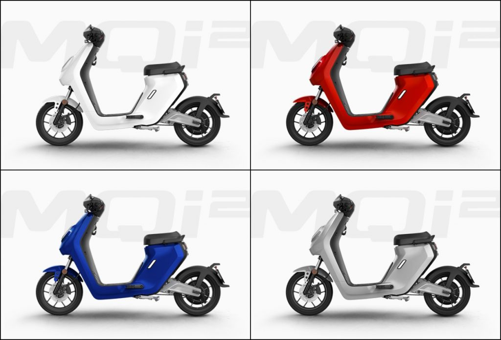 Niu MQi2 electric scooter colour