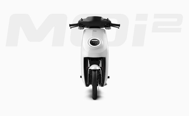 Niu MQi2 electric scooter front view