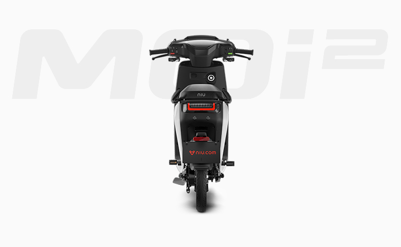 Niu MQi2 electric scooter rear view