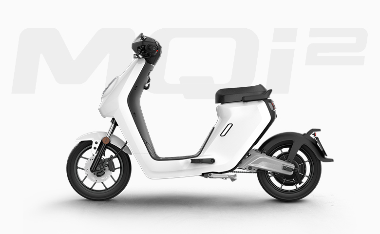 Niu MQi2 electric scooter side view