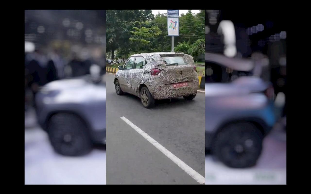 Tata HBX production model testing