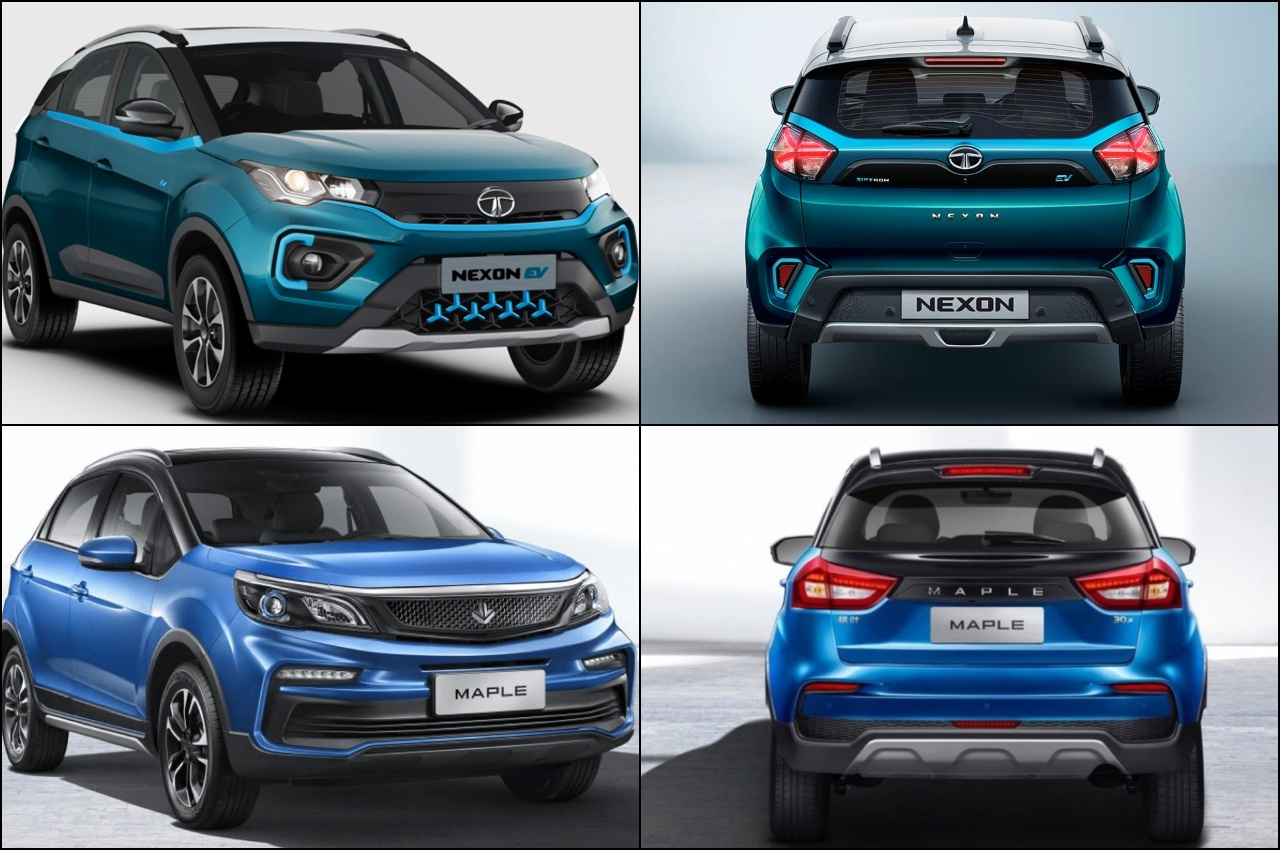 Tata Nexon EV vs Maple 30x EV comparison