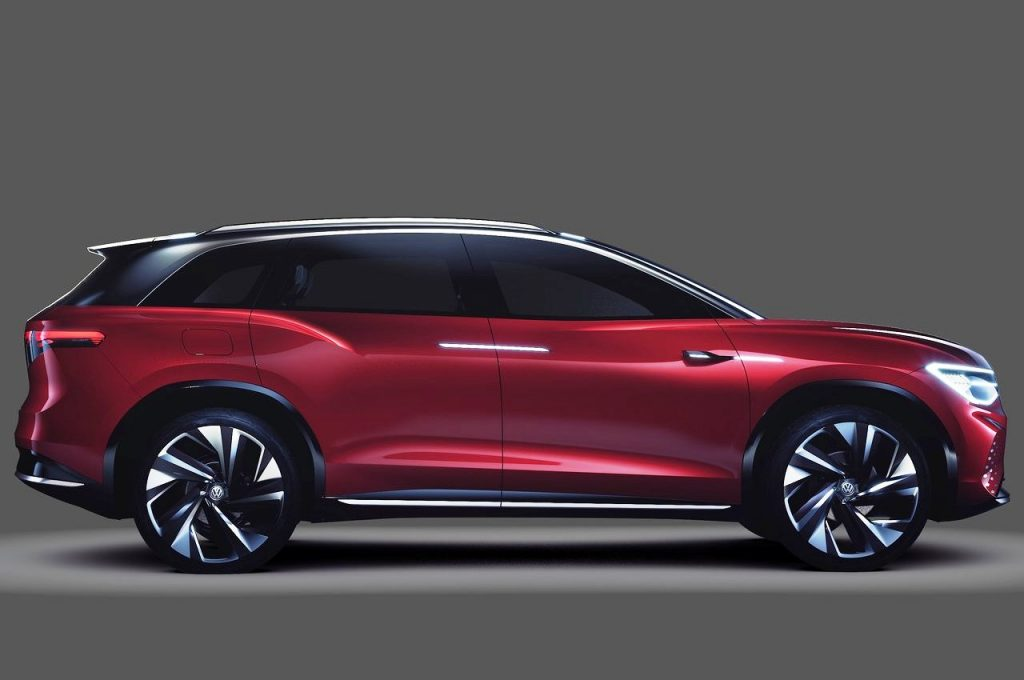 Volkswagen ID.Roomzz Concept side view