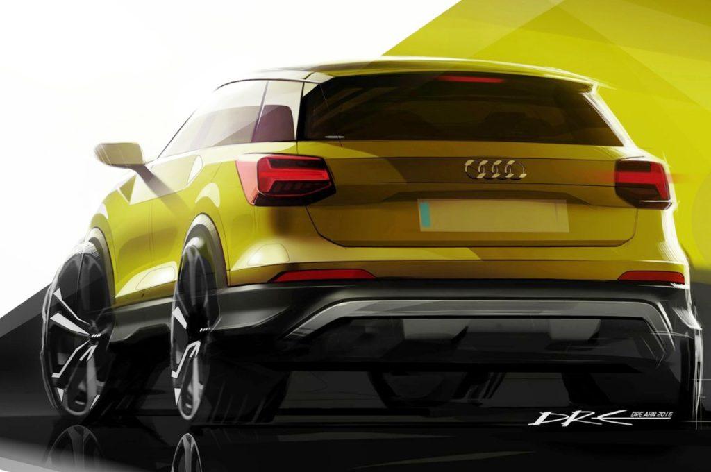 2017 Audi Q2 sketch