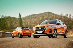 2020 Nissan Kicks ePower front view press photo
