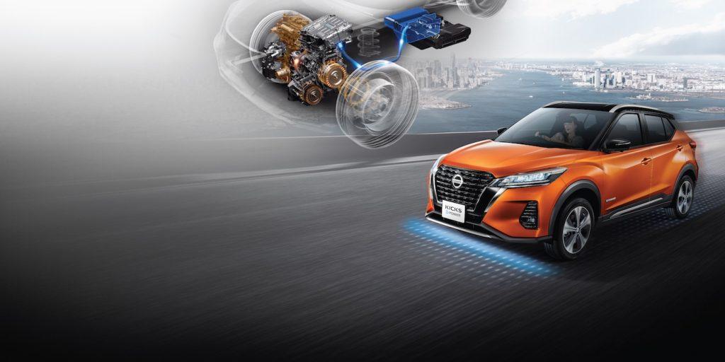 2020 Nissan Kicks ePower tech press photo