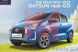 2020-datsun-redigo-facelift-front three quarter view