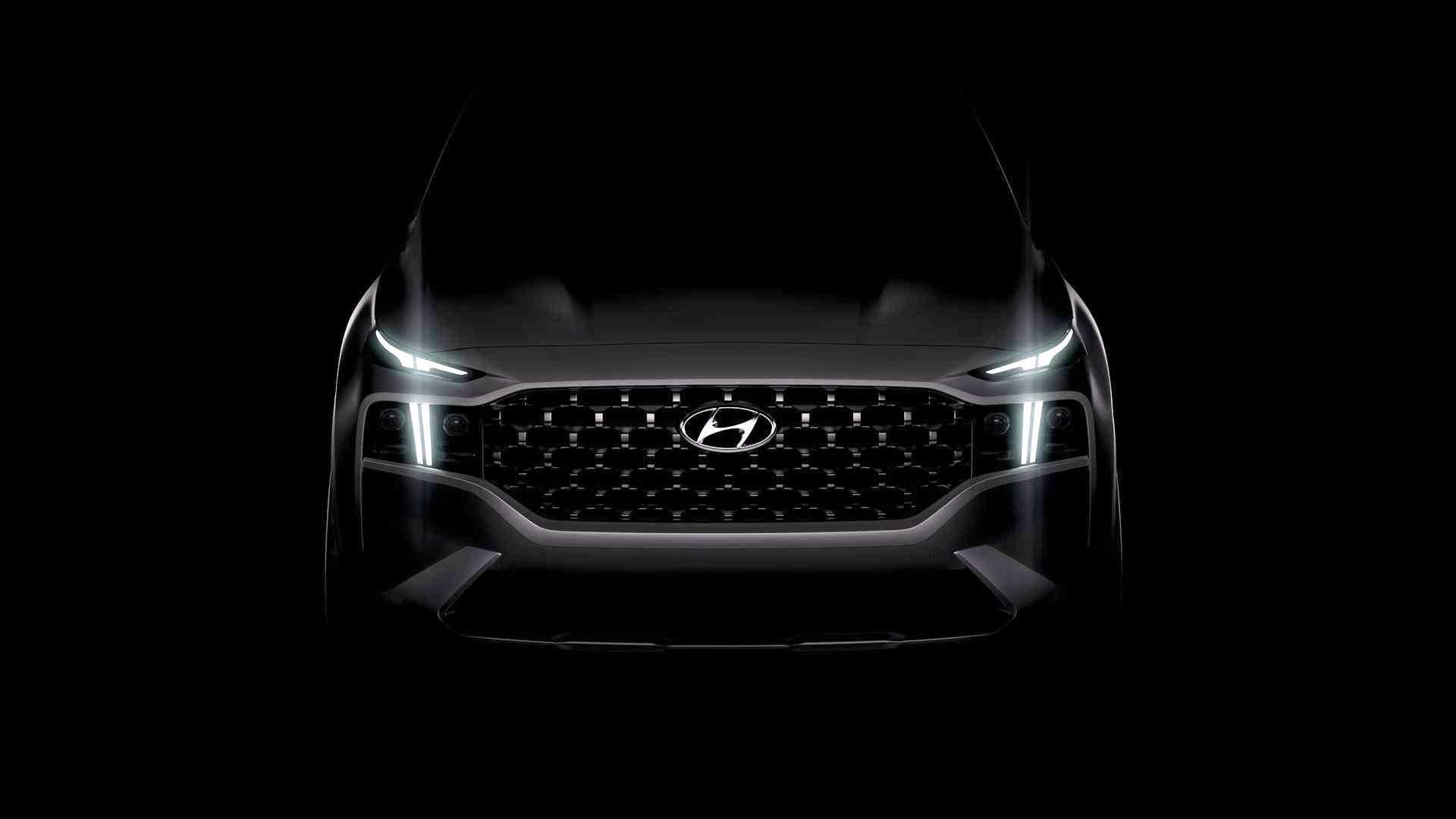 2021 Hyundai Santa-Fe teaser