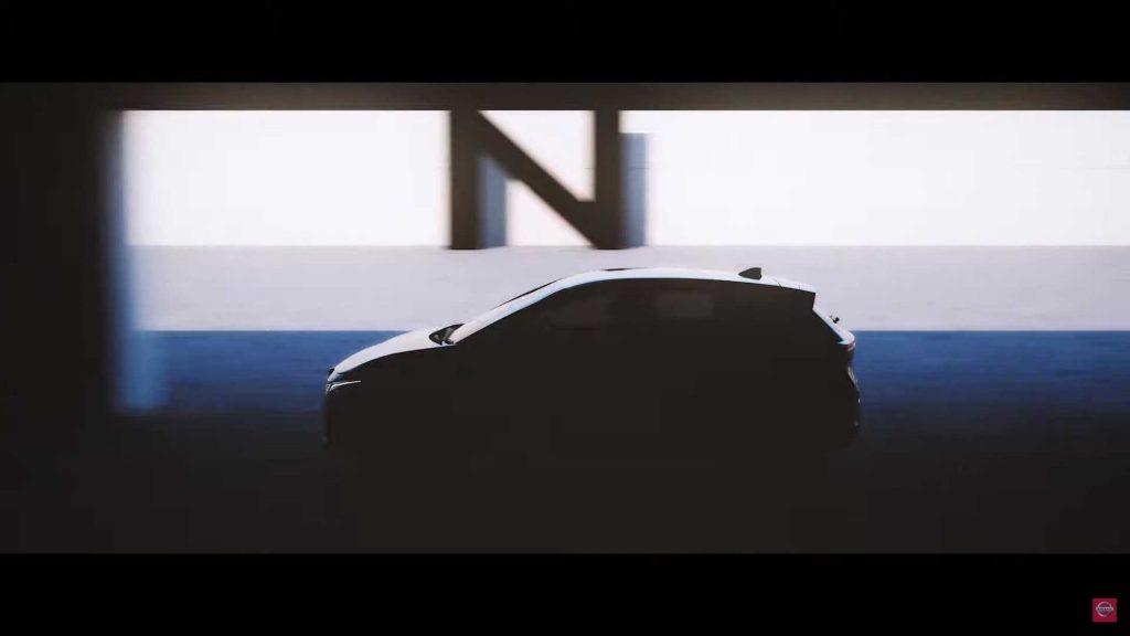 2021 Nissan Note teaser