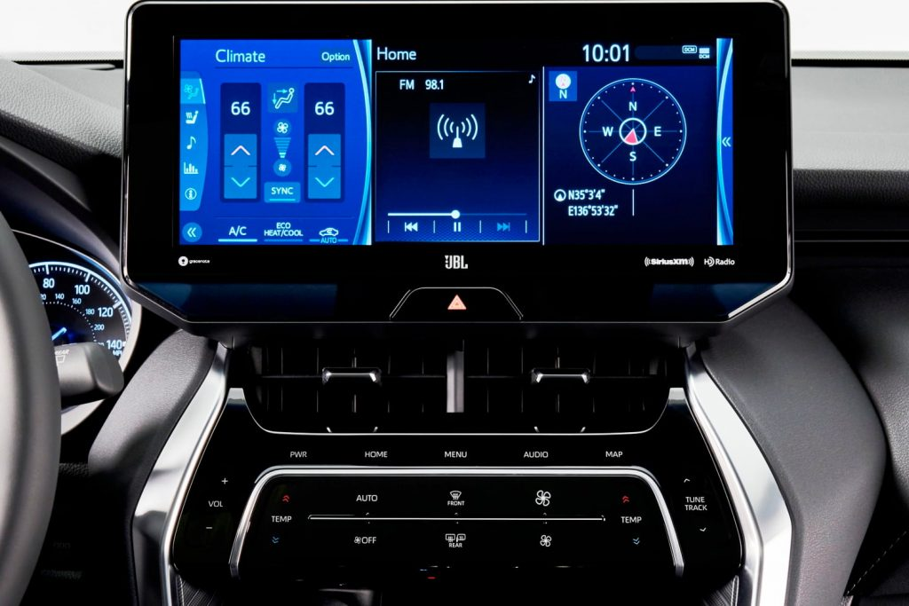 2021 Toyota Venza S-flow cooling technology