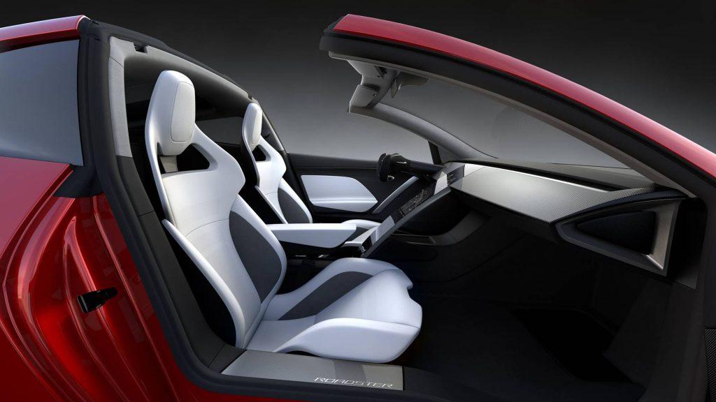 2022 Tesla Roadster interior press image