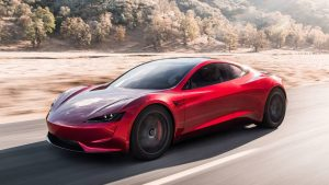 2022 Tesla Roadster press image