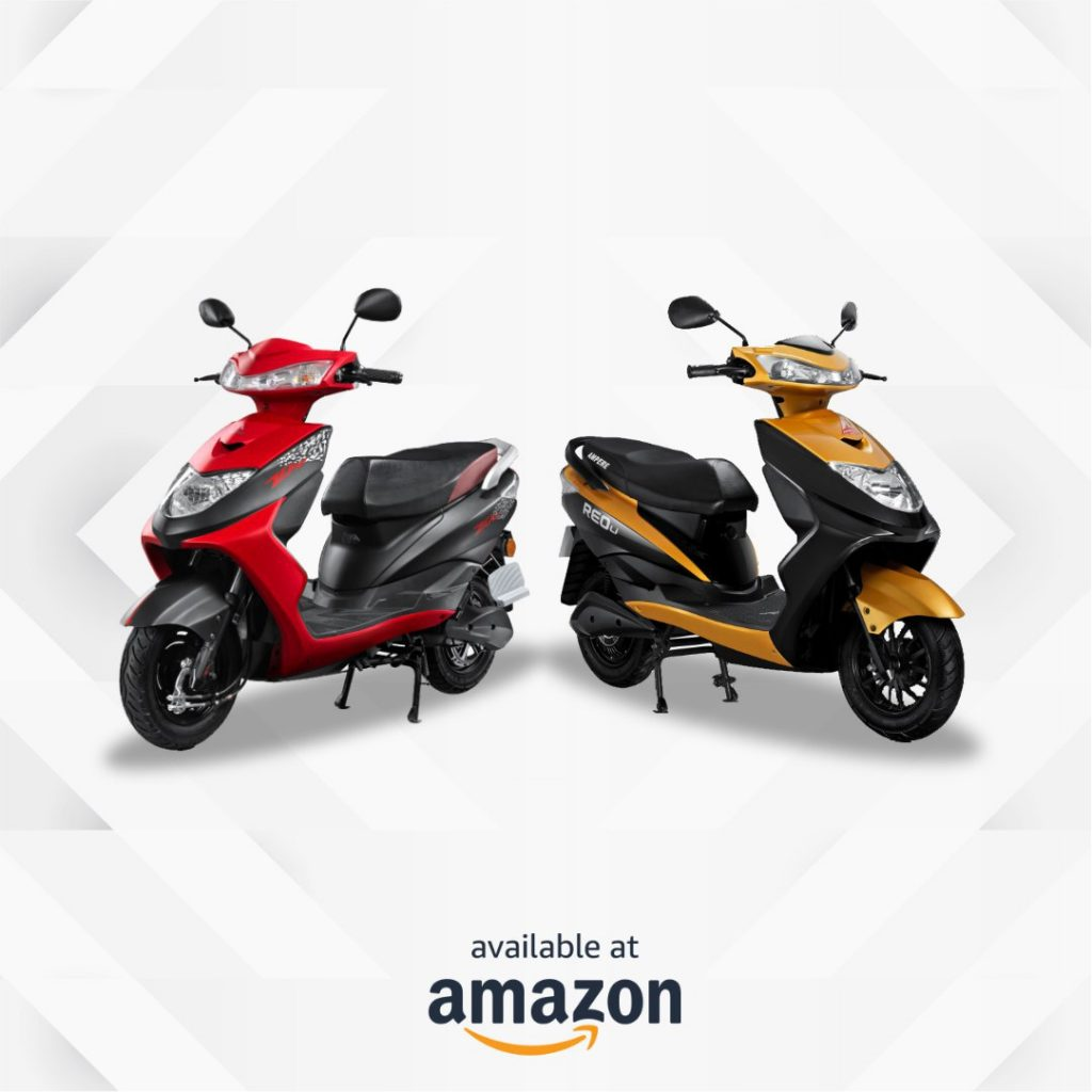 Ampere Reo and Zeal electric scooters