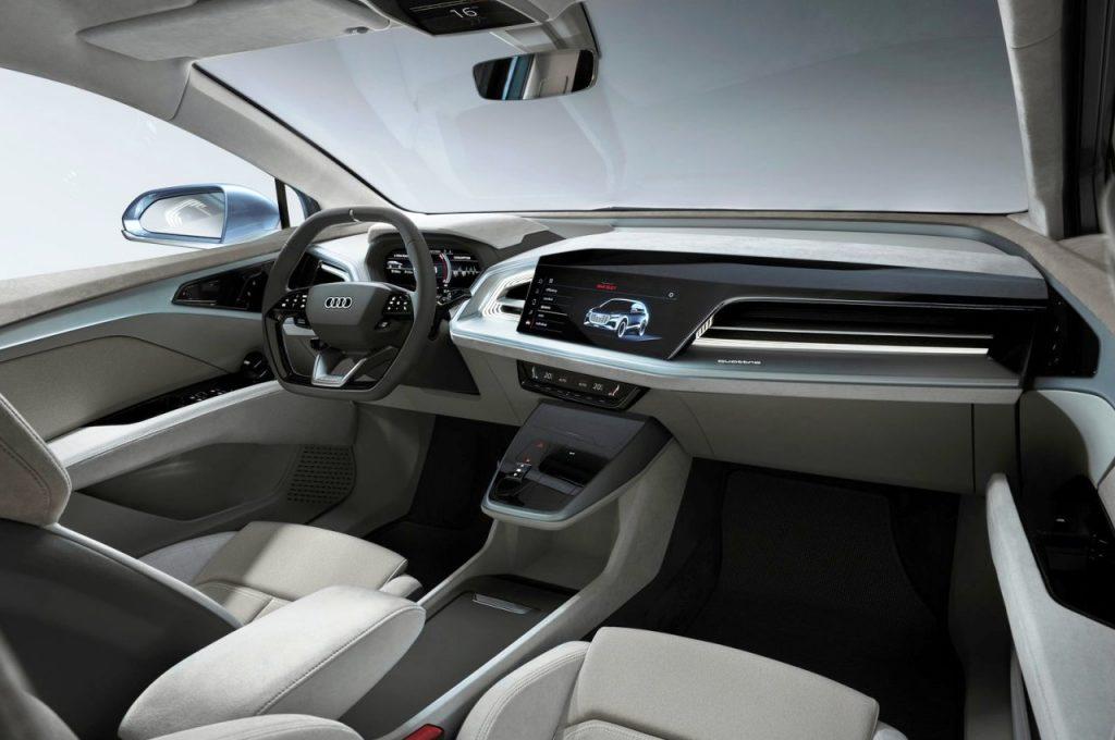 Audi Q4 e-tron Concept dashboard