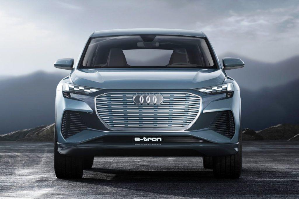 Audi Q4 e-tron Concept front view