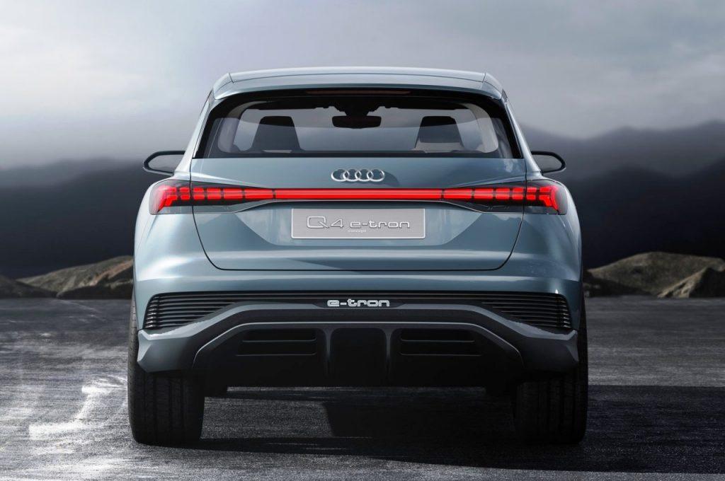 Audi Q4 e-tron Concept rear view