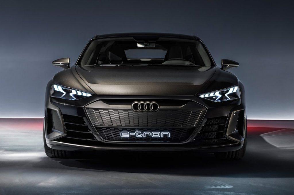 Audi e-tron GT Concept front view