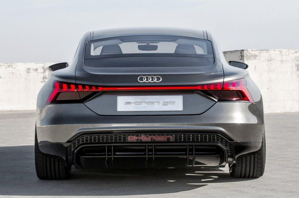Audi e-tron GT Concept rear view