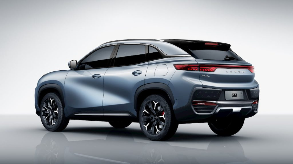 Chery eQ5 rear quarters