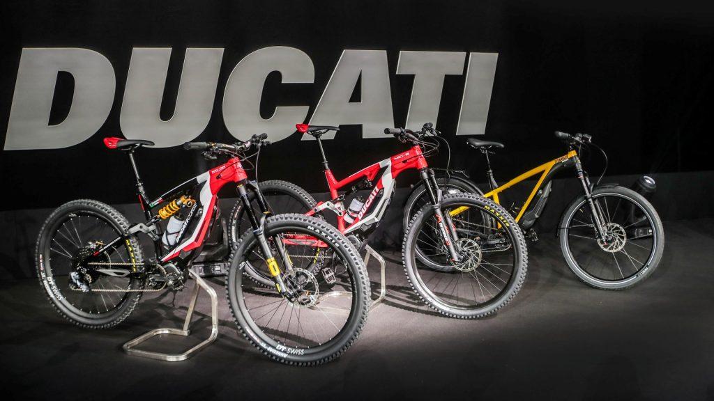 Ducati Ebikes model range