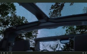 GMC Hummer electric removable roof panels