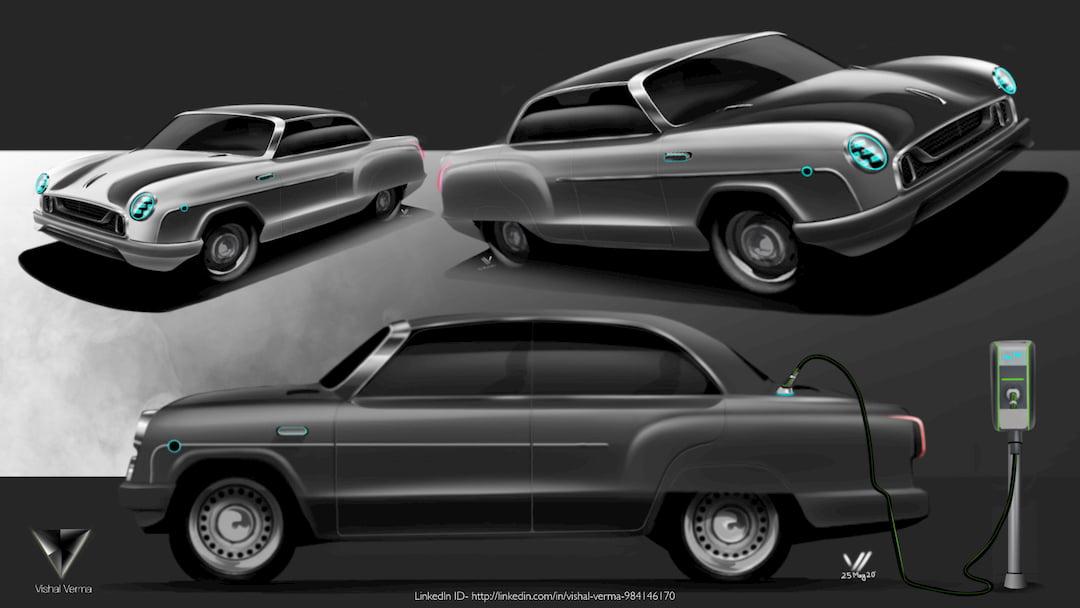 HM Ambassador Electric Vehicle concept
