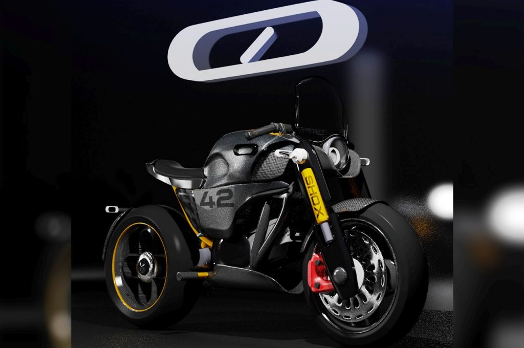 Halo Project electric motorcycle GT version