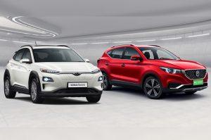 Hyundai Kona Electric vs MG ZS EV