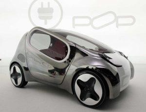 Kia Pop Concept front three quarters