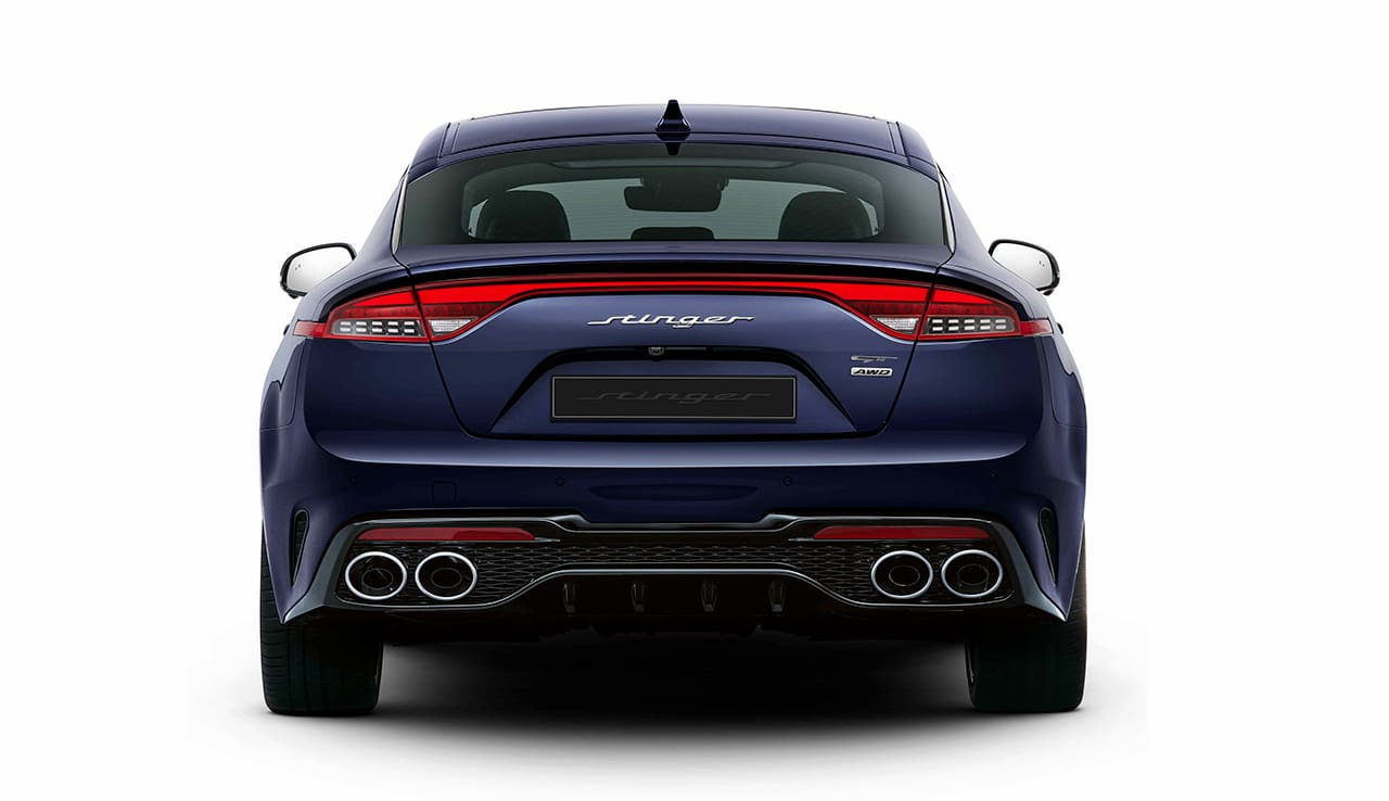 Kia Stinger rear