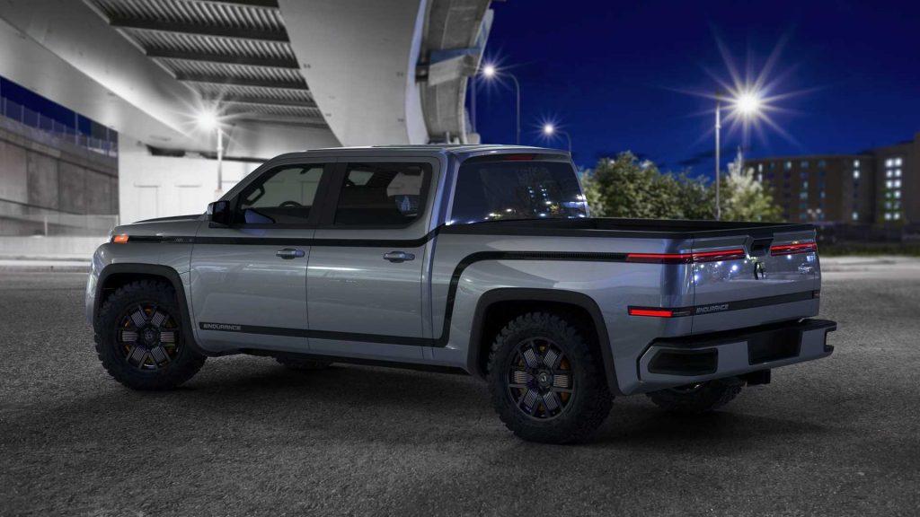 Lordstown Motors Endurance electric pickup truck rear