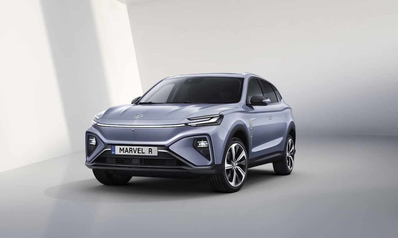 MG Marvel R electric SUV front