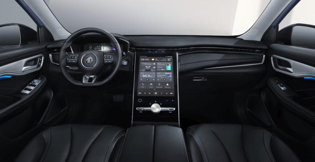 MG Marvel R electric SUV interior