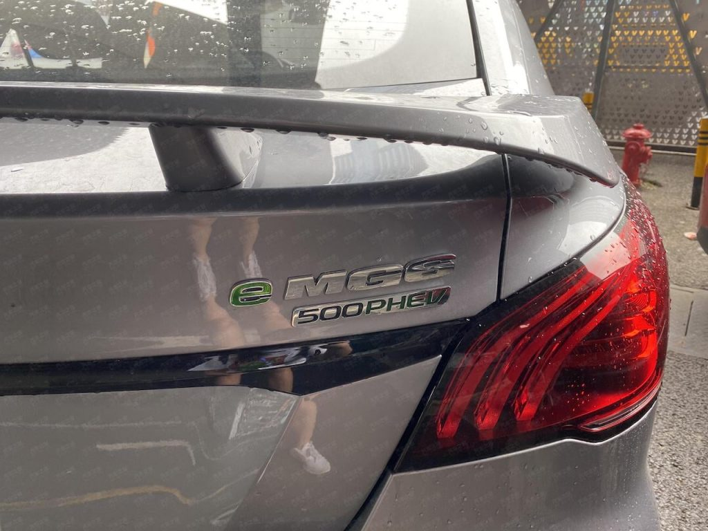 MG6 PHEV facelift tail lamp