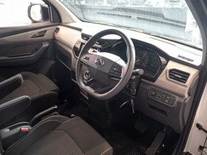 Maxus E Deliver 3 electric van interior