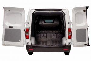 Maxus E Deliver 3 electric van loading