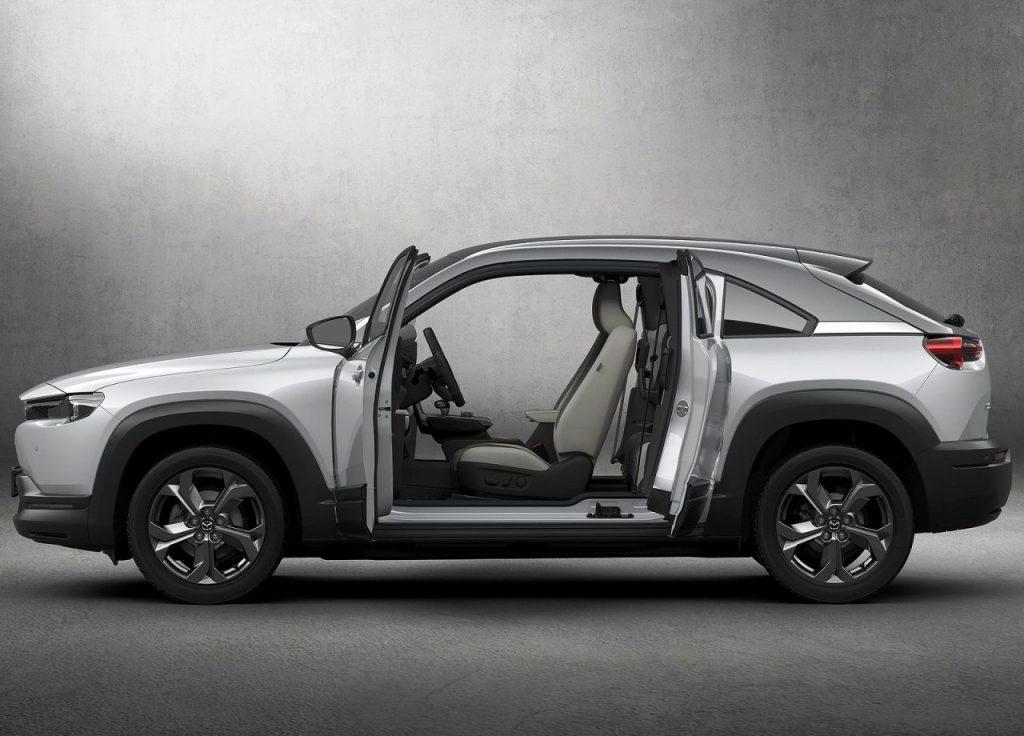 Mazda MX-30 suicide doors
