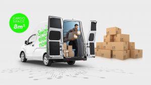 Nissan E-NV200 VOLTIA VAN cargo loading