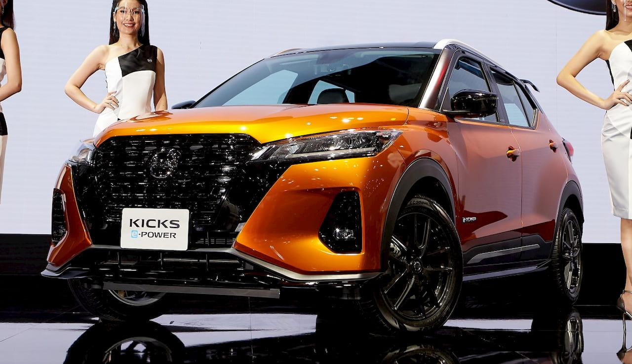 Nissan Kicks ePower Premiere Edition front
