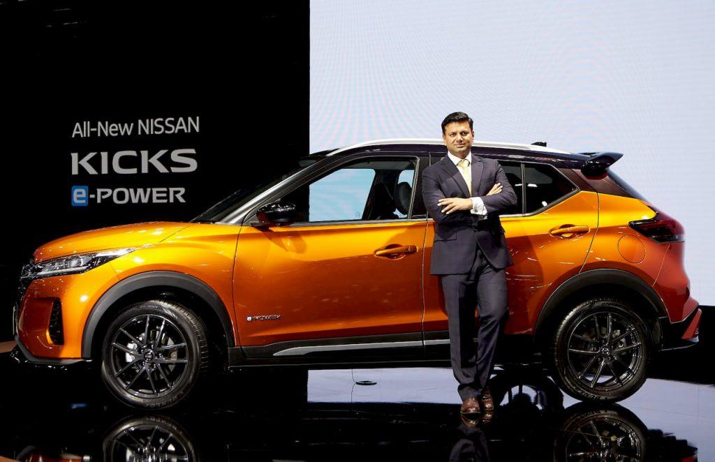 Nissan Kicks ePower Premiere Edition side