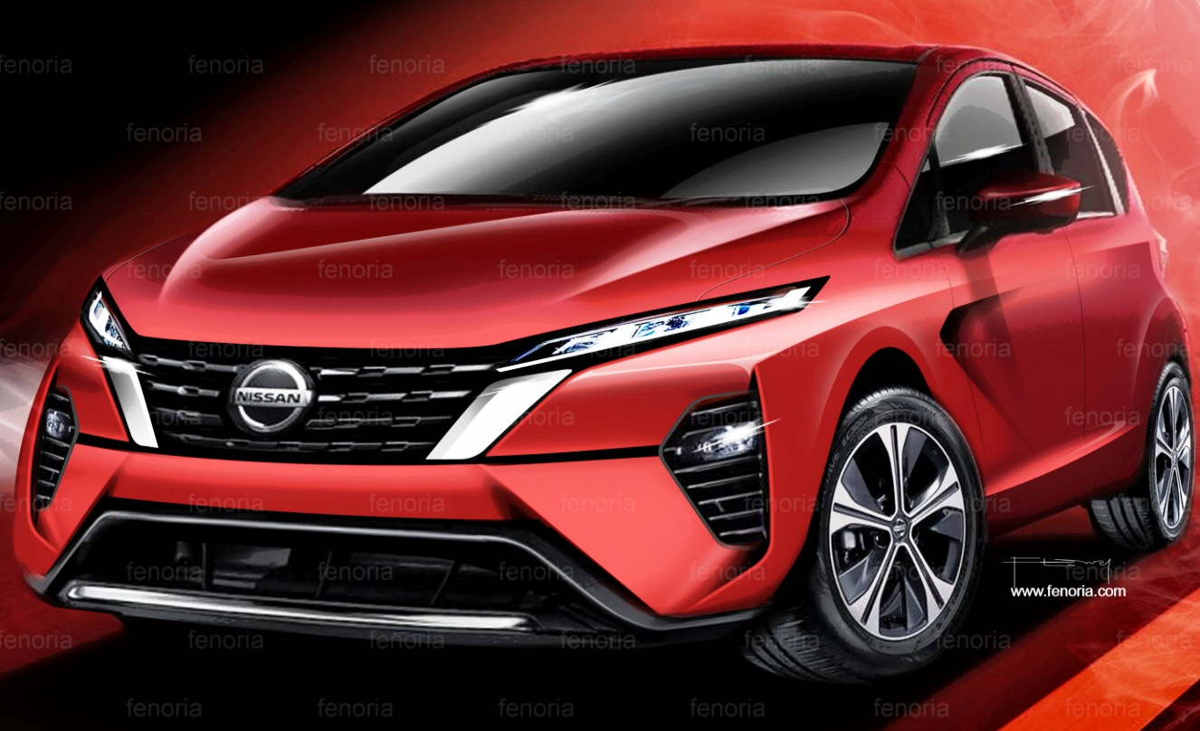 Nissan Note next generation render