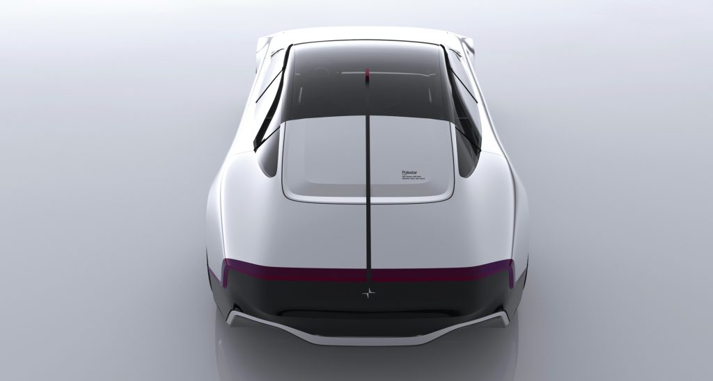 Polestar 7 Concept rendering rear view
