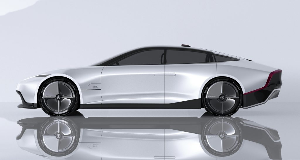 Polestar 7 Concept rendering side view