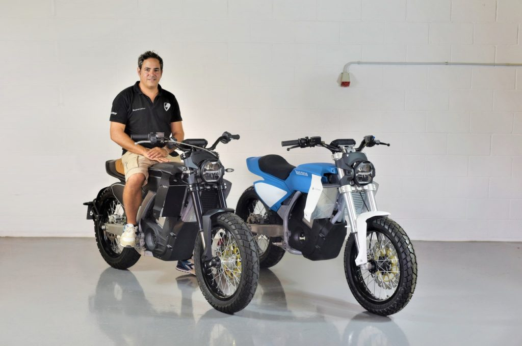 Pursang E-Track and Pursang E-Street electric motorcycles