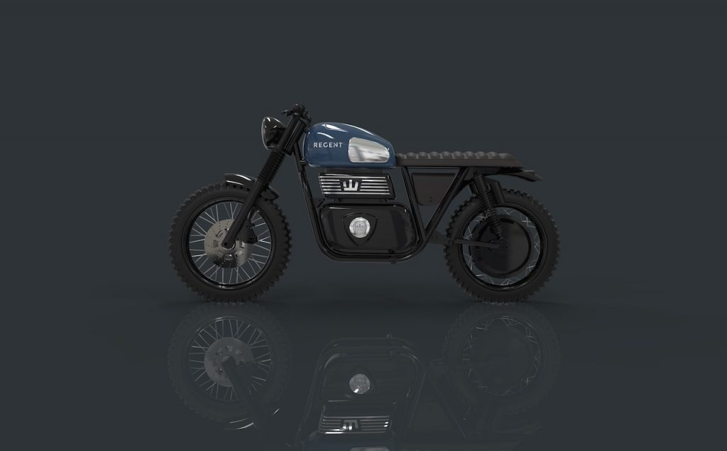 RGNT Regent Kismo electric motorcycle side